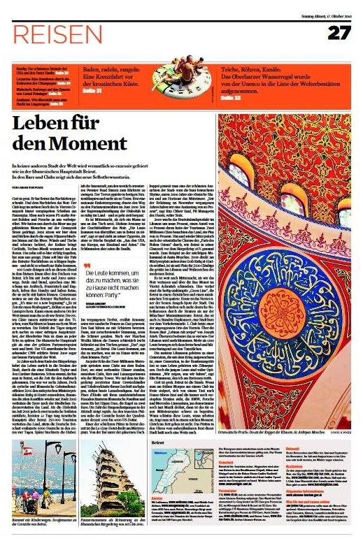 Beirut: Leben für den Moment