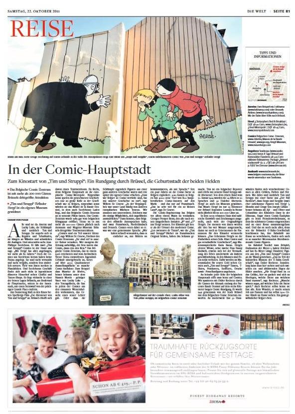 Brüssel: In der Comic-Hauptstadt