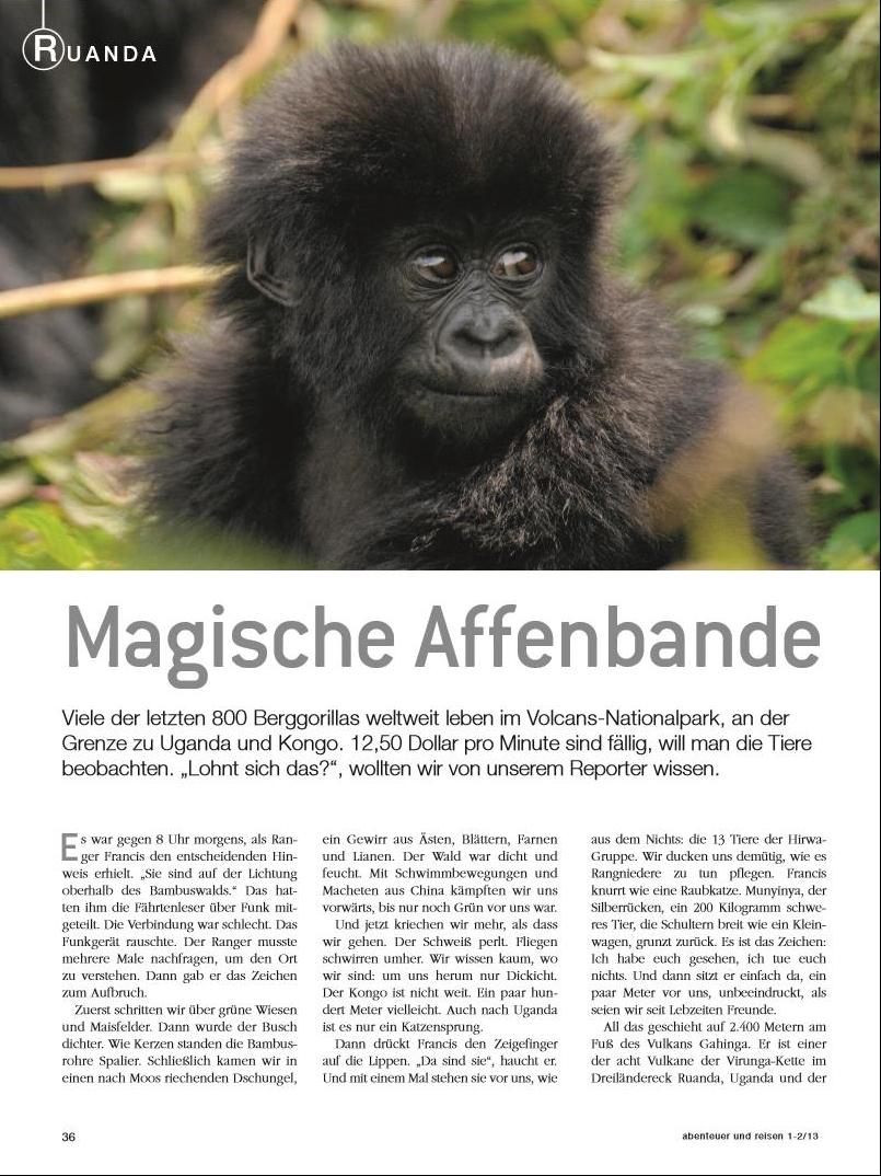 Ruanda: Magische Affenbande