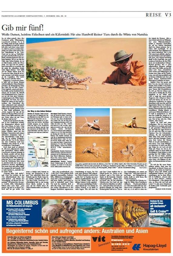 Namibia: Gib mir fünf!